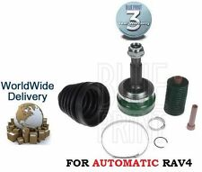 FOR TOYOTA RAV 4 AUTOMATIC 2.0 VVTi 2005-2009 NEW CV CONSTANT VELOCITY JOINT