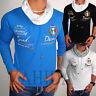 Jeel Jeans pour homme Pull T-shirt à manches longues CLUBWEAR à capuche à WOW