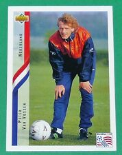 FOOTBALL CARD UPPER DECK 1994 USA 94  PETER VAN VOSSEN NEDERLAND PAYS-BAS KNVB