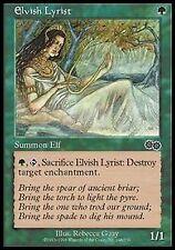 *MRM* EN 4x Lyriste elfe / Elvish Lyrist  MTG Urza's saga