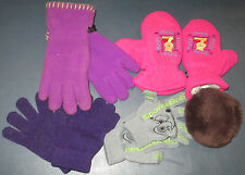 Lot of kid Winter 5 Items Clothing gloves mittens ear muffs