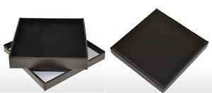 Black Pendant Earring Box Gift