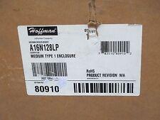 "HOFFMAN MEDIUM TYPE 1 ENCLOSURE CAT # A16N128LP 16""X12""X8.62""  NEW OLD STOCK"