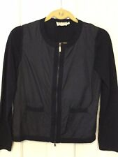 Authentic MONCLER Full Zipper Navy Blue Cardigan Size XS Sweater Jacket GORSUCH