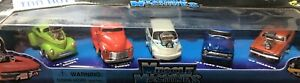 Muscle Machines 5 Pack* 41 Willys-53 Chevy-56 Ford-69 Dodge-PT Cruiser * 1:64