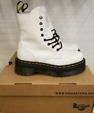 NEW IN THE BOX DR MARTENS JADON WHITE 15265100 BOOTS FOR WOMEN