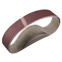 2 x 27 Inch Sanding Belt 100 Grit Sand Belts for Belt Sander 5pcs