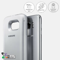 Genuine Samsung SM-G930PZKABST Galaxy S7 Wireless Charging Battery Pack Case
