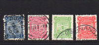 New Zealand 4 Life Insurance Stamps Used (16)