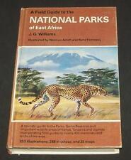 1981 Guide National Parks East Africa Kenya Tanzania Ngorongoro Olduvai Uganda