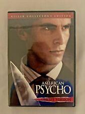 American Psycho (2000, Dvd) Killer Collector'S Edition C37