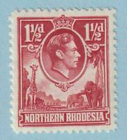 NORTHERN RHODESIA 29  MINT HINGE REMNANT OG ** NO FAULTS EXTRA FINE!