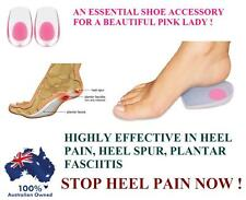 Stop Heel Pain Gel Plantar Fasciitis Spur Pad Cup Cushion Insole Support foot