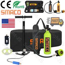 Smaco Mini Scuba Diving Equipment Kit 1L Oxygen Cylinder High Pressure Air Tank