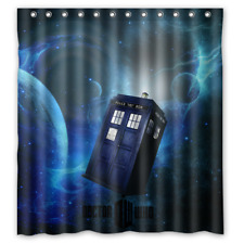 Special Offer Custom Doctor Who Waterproof Bathroom 66x72 inch Shower Curtain
