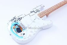 RGM21 Pink Floyd The Wall White Design Miniature Guitar