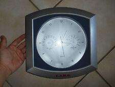 Horloge Murale C.A.M.B Station Météorologique Thermomètre Hygromètre