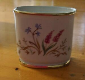 Eschenbach Porcelain Alpine Flowers Small Vase/Cigarette Holder/