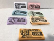 2008 Star Wars Clone Wars Monopoly Money Replacement Piece Parts