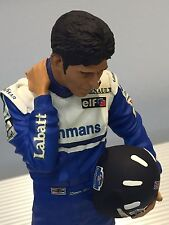 Exoto / Damon Hill / 1996 F1 Champion / Hand Painted Figurine / 1:9