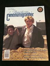 AMERICAN CINEMATOGRAPHER Feb. 1989 VG+ Condition