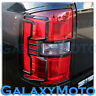 14-16 GMC Sierra 1500 Truck Gloss Black Taillight Tail Light Trim Bezel Cover
