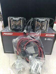 RIGID Industries 262213 Pair of D-SS PRO Side Shooter LED Lights Spot D-Series