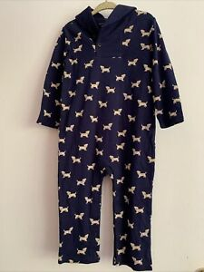 Janie and Jack boys puppy romper  18 - 24 months NWT
