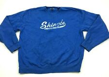 VINTAGE Gear Shingle Creek Sweater Men's Size Large Royal Blue Long Sleeve Shirt