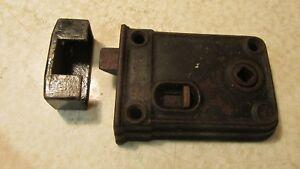 Antique Cast Iron rim Lock No. 4