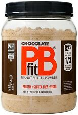 PBfit All-Natural Chocolate Peanut Butter Powder, 30 Oz. Free Shipping!!