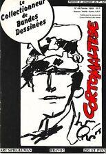 Le collectionneur de bandes dessinées n°49 Corto Maltese Pratt Art Spiegelman