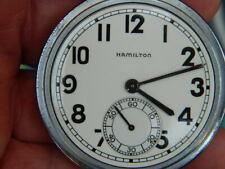 WW2 Hamilton Grade 2974B 17J  Hacking Feature No Reserve !.