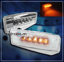 UNIVERSAL YELLOW LED SIGNAL SIDE MARKER LIGHTS CHEVY CHRYSLER DODGE LEFT+RIGHT