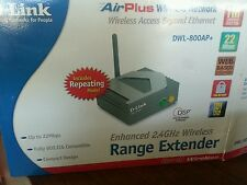 D-Link Router Access Point DWL-800AP+ w/ AC Adapter new sealed
