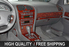 Fits Chevrolet Trailblaizer 02-09 INTERIOR WOOD GRAIN DASHBOARD DASH KIT TRIM PA