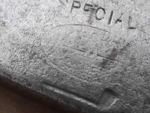 RARE  Antique T. STEWART  SPECIAL J.Jackson  DOT  Face PUTTING CLEEK  Wood Shf