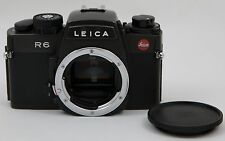 Mint Leica R6 Fully Mechanical35mm SLR Film Camera Body Only - Very Lightly Used