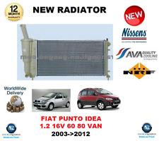 für Fiat Idea 350 1.2 16V Punto 188 1.2 60 16V 80 2003-2012 Kühler OE-Qualität