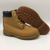 Timberland 10061 6 Inch Premium Men's Work Boots Wheat Waterproof-SIze 5.5