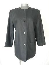 Veste  légère Noir  100% Lin  ---  CACHAREL ---  T.  38