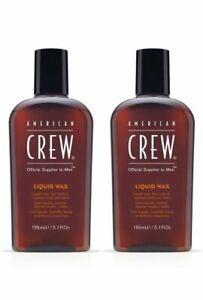 AMERICAN CREW Liquid Wax 150 ml / 5.1 oz (Pack of 2)