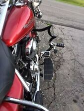 "CUSTOM ENGINE GUARD HIGHWAY CRASH BAR 4 HARLEY TOURING ROAD GLIDE STREET 1.5"""