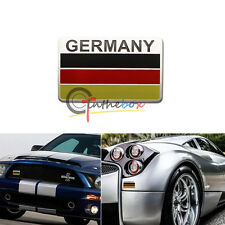 (1) Germany Black Red Yellow Flag Badge For German Cars Audi BMW Mercedes VW etc