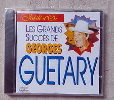 "CD AUDIO FR/ GEORGES GUETARY ""LES GRANDS SUCCÈS"" MAXI CD PROMO NEUF"