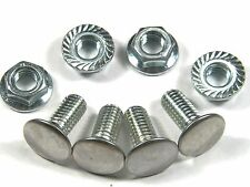 7/16-14 x 1 Bumper Bolts GM Olds Pontiac Chevy OE Style Nuts (4 Pack) #94