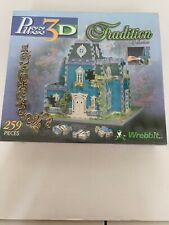 Wrebbit Puzz 3D 11 Mill Street Tradition Collection New Sealed Box