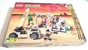 Vintage Lego 5958 Adventurers Egypt Mummy's Tomb (New In Open Box)
