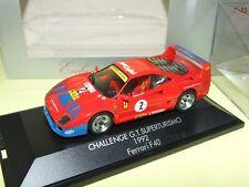 FERRARI F40 N°2 CHALLENGE GT SUPERTURISMO 1992 HERPA