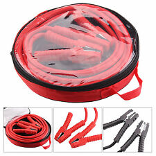 1200AMP Heavy Duty Battery Jump Start Leads 6 Metres Long Booster Cable Car Red
